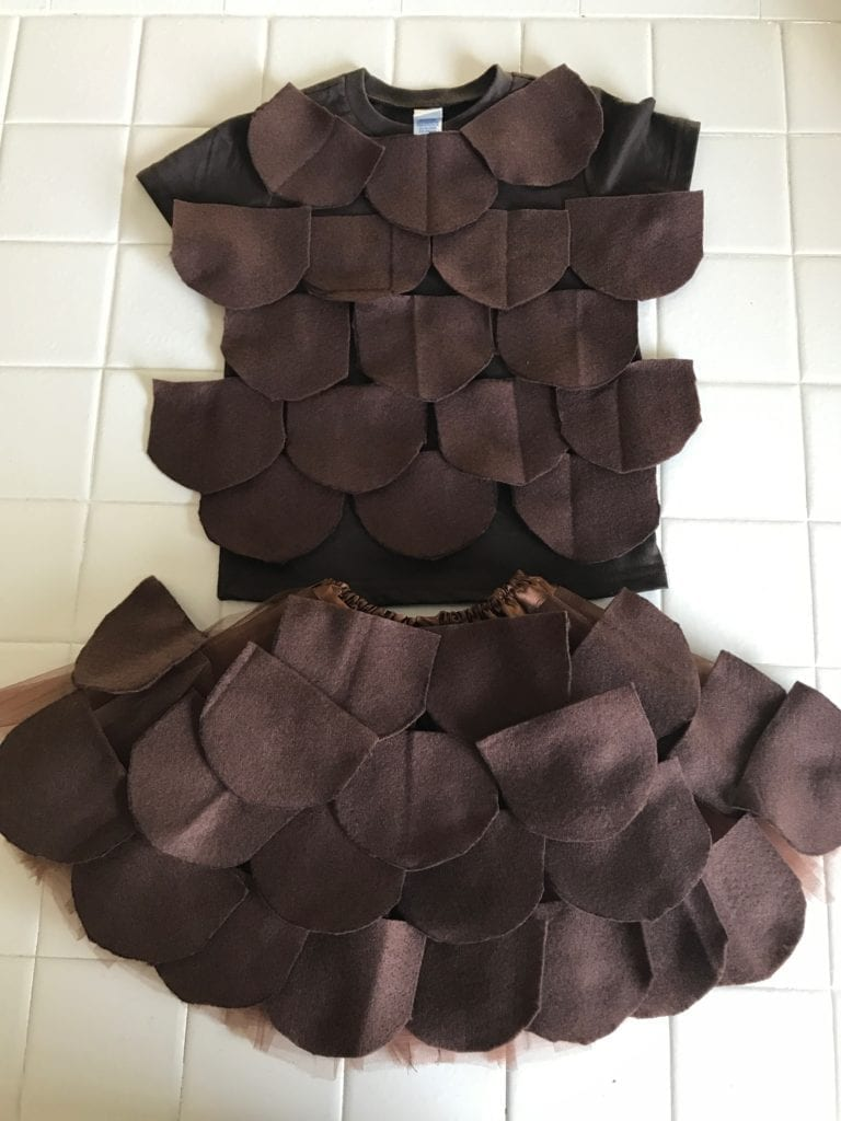 Pine Cone costume version 1