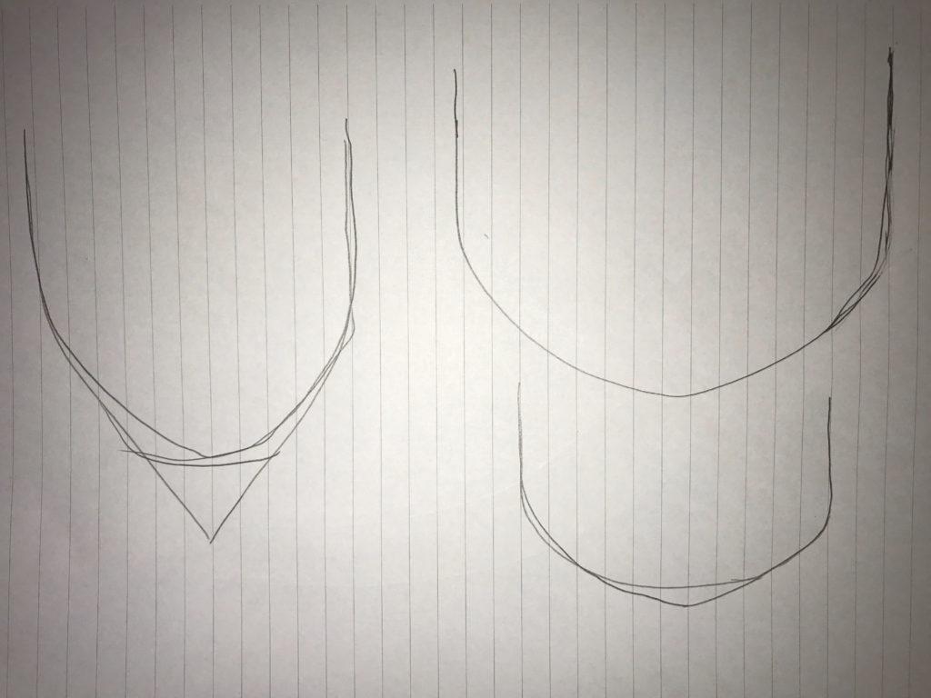 Pine Cone sketches
