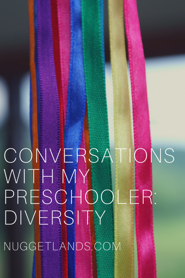 Talking about diversity with our kids