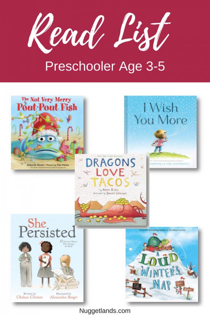 READ Gift Guide Preschool