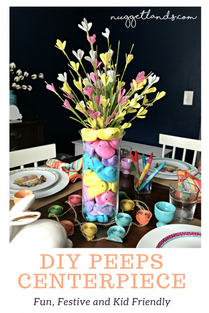 How to make a Peeps Centerpiece