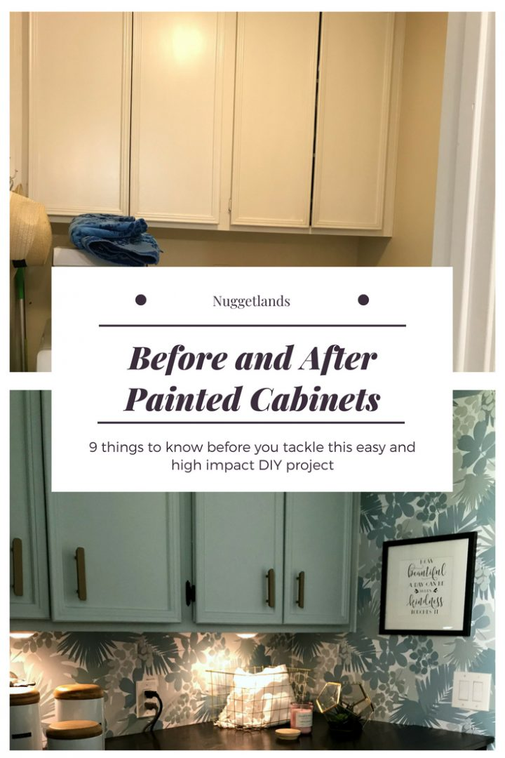 9 Things to Know Before Painting Cabinets