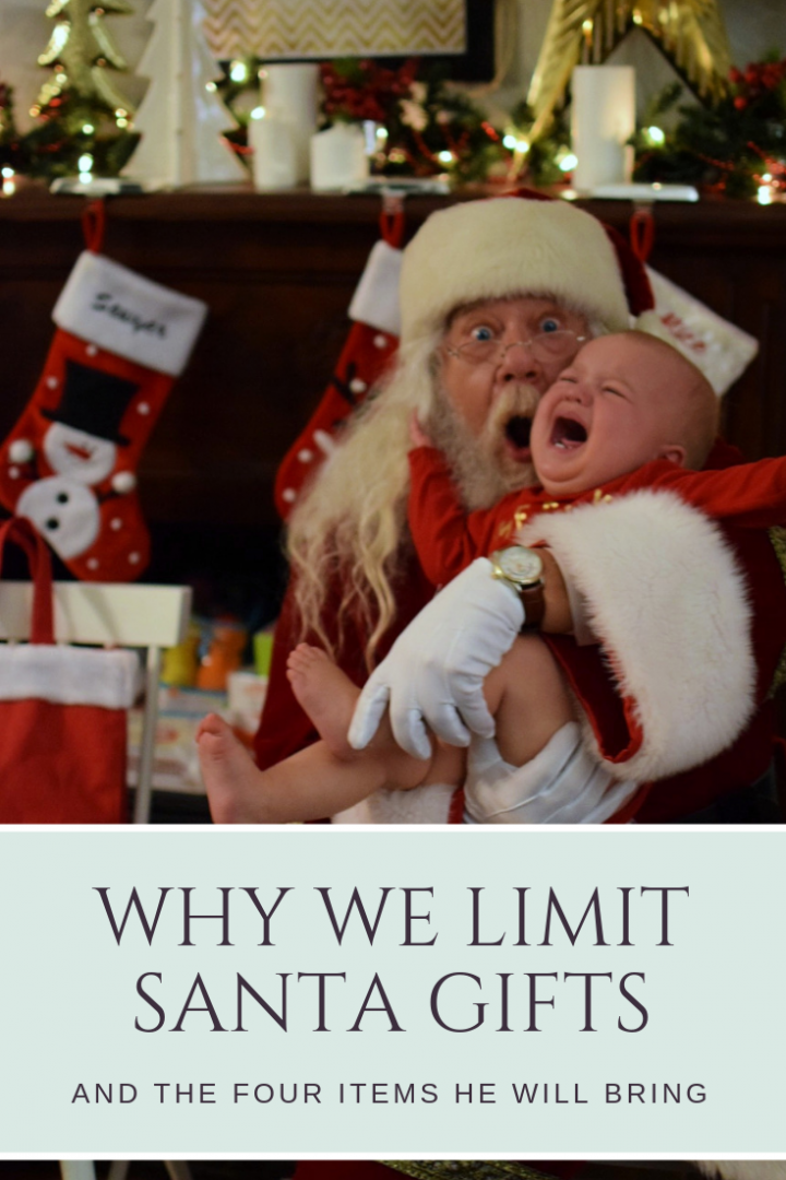 Why Santa Only Brings Four Gifts