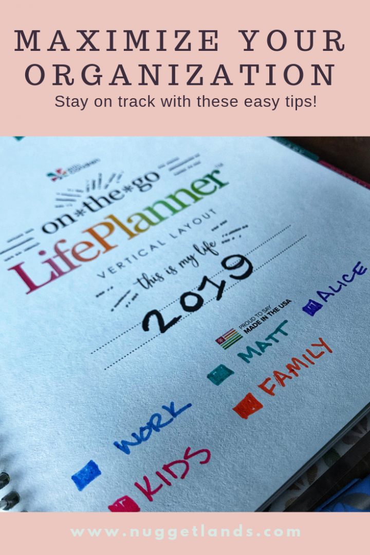 How I use my Erin Condren Life Planner to stay organized
