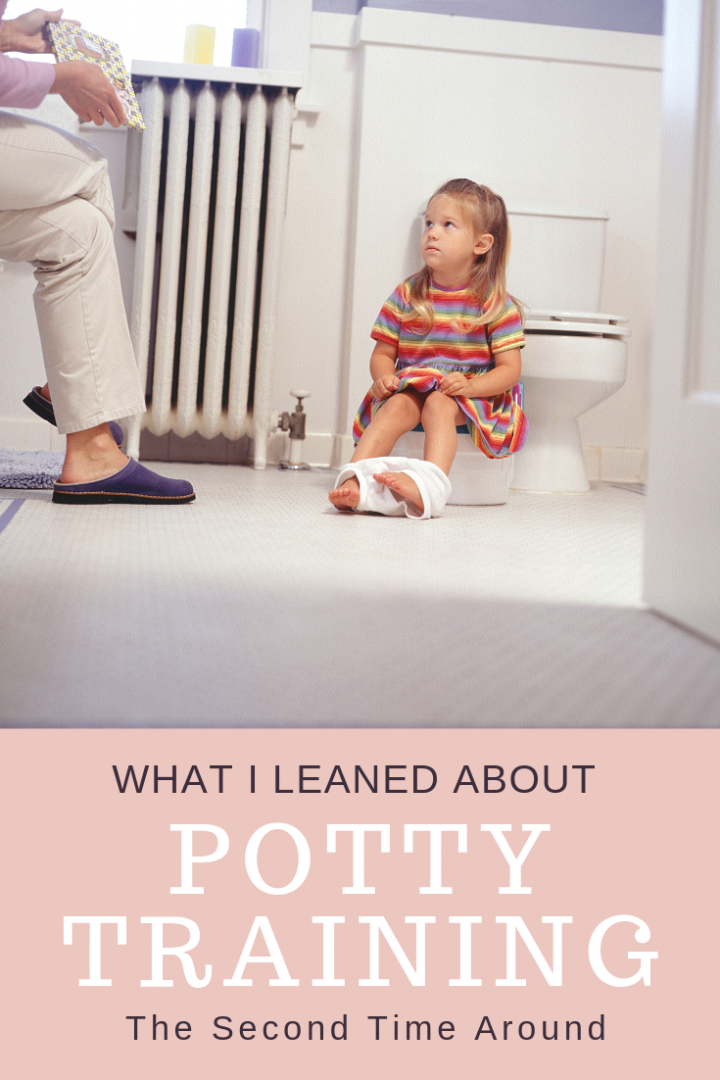 Potty Training the Second Time Around