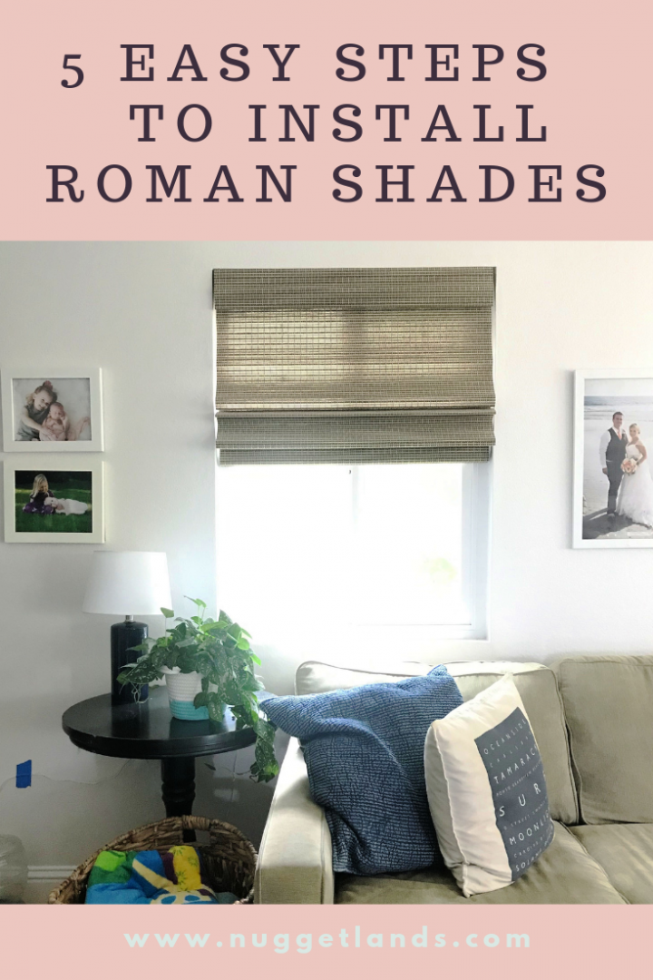 How to Install Roman Shades in 5 Easy Steps