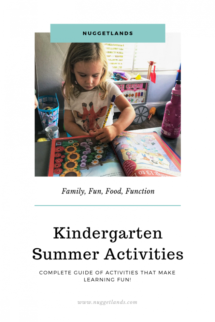 Kindergarten Summer Activities Guide