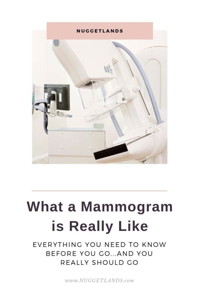 Mammograms can be scary but they don't have to be. Everything you need to know about your first mammogram, what to expect, when you get results, what the images, machine and diagnostic is like. My tech was amazing and walked me through everything that would happen.